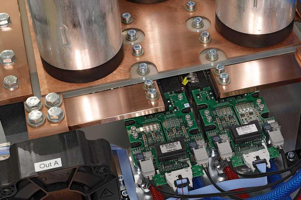 Mittelfrequenzumrichter-Modul 600kW